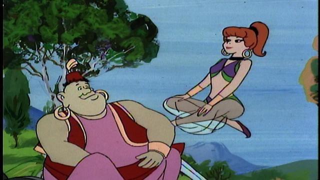 Scooby-Doo Meets Jeannie
