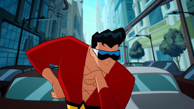 Plastic Man Saves the World