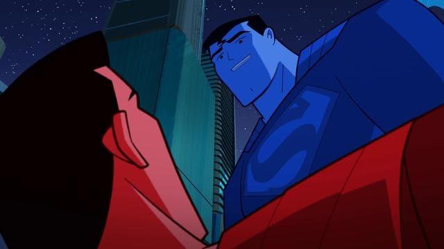 Superman Red vs Superman Blue
