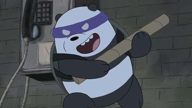 Baby Orphan Ninja Bears
