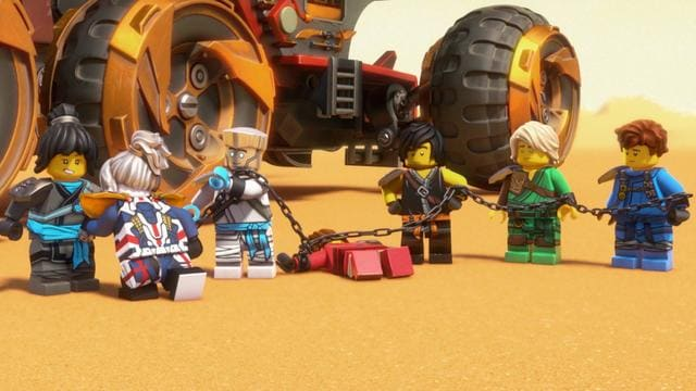 Ninja vs. Lava