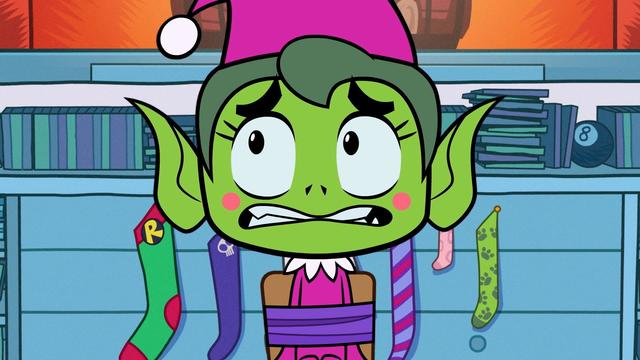Beast Boy on a Shelf