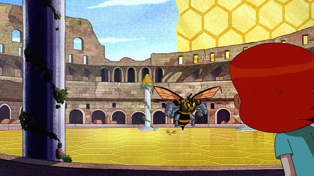 Ben en Roma Parte 2: Avispate