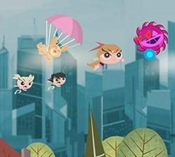 Powerpuff Girls Games - Attack of the Puppybots